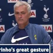 WATCH: Jose Mourinho Proves He Is One Of The Nicest Guys In Football With This Amazing Gesture For One Reporter