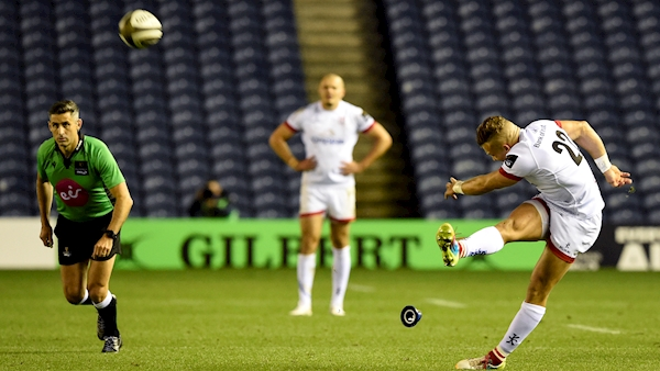 Ulster beat Edinburgh as last kick of game fires them to Pro14 final