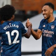 Willian stars as Arsenal beat Fulham 3-0 in PL opener