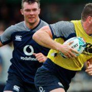 Peter O'Mahony and Chris Farrell join Ireland squad ahead of Italy clash