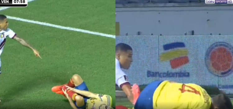 WATCH: Colombian Defender Arias Has Possible Career Ending Injury. WARNING GRAPHIC.