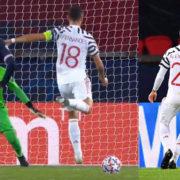 WATCH: Bruno Misses Penalty For United. VAR Orders Retake