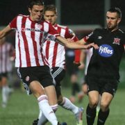 Dundalk one step closer to European football after win against Derry City