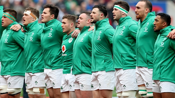 Ireland Six Nations squad announced for Italy and France games