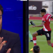 """WATCH: """"If That's A Red, The Game Is Officially Gone!"""" – Jamie Redknapp"""