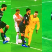 WATCH: Adrian Just Tackled Joe Gomez And Joe Can't Believe It