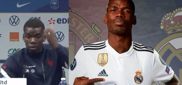 WATCH: Paul Pogba Hints Of Possible Move To Real Madrid In Interview