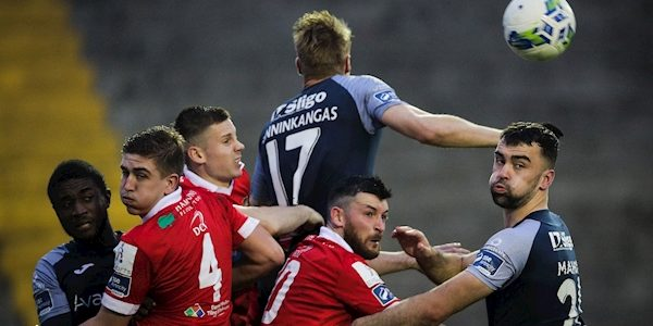 League of Ireland: Shelbourne ensure league safety with Sligo Rovers defeat
