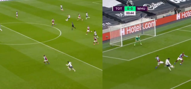 WATCH: It Took Son Just 45 Seconds To Score For Spurs Today
