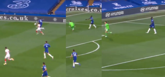 WATCH: Kurt Zouma Should Be Awarded Southampton's Player Of The Month For This