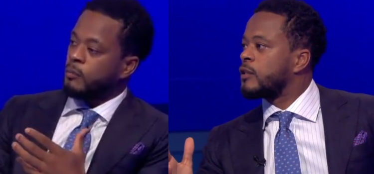 WATCH: Patrice Evra Asks To Quit Sky In Emotional Post Match Analysis