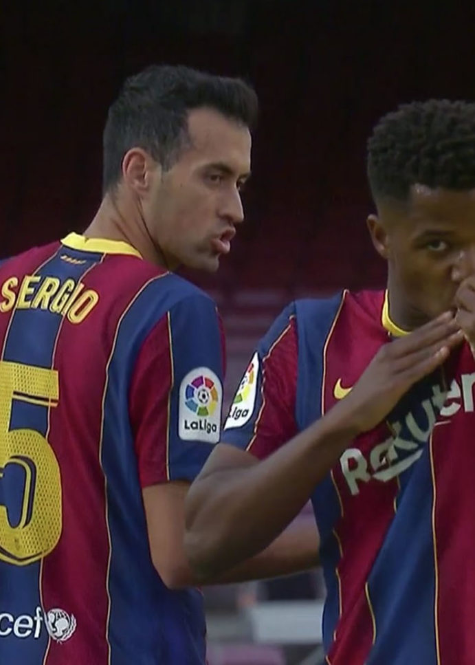 WATCH: Ansu Fati Becomes Youngest Goal Scorer In El Clasico History