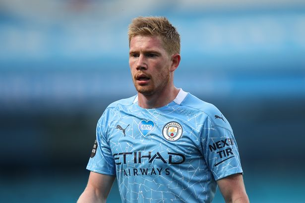 Man City's Kevin De Bruyne set to miss four to six weeks ...
